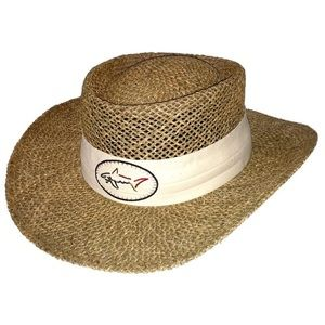 NWT Greg Norman Golf Natural Classic Straw Hat ⛳️